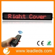 "Кита Leadleds 26"" x 4"" Remote Programmable Led Sign Scrolling Message Board for Your Business - Red завод"
