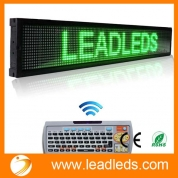 Кита Leadleds 40 X 6.3-in Remote Programmable Scrolling Led Sign Message Board for Business - Green Message, Fast Program By Remoter завод
