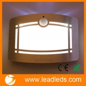 China Leadleds Battery Operated Motion Sensor LED Smart Light with 2 Light Modes, Night Light Auto ON/OFF for Bedroom, Living Room, Staircase, Hallway factory