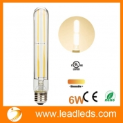 China Leadleds Beautiful Edison Bulb Dimmable with Long Filament LED, T10 Tubular E26 Medium Base 60 Watt Incandescent Bulb Equivalent 3000K Warm White(upc: 701948981467) factory