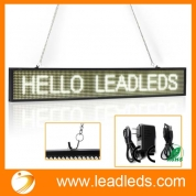 La fábrica de China Leadleds LED Display Panel Programmable for Business Open Home Salon Coffee, White Message