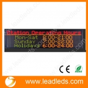 La fábrica de China best sellers multi-language single color indoor p7.62 ali led display full sexy vedio